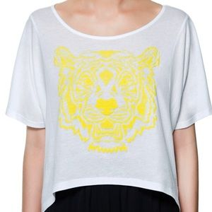 Zara tiger shirt
